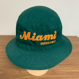 Vintage Miami Hurricane Bucket Hat
